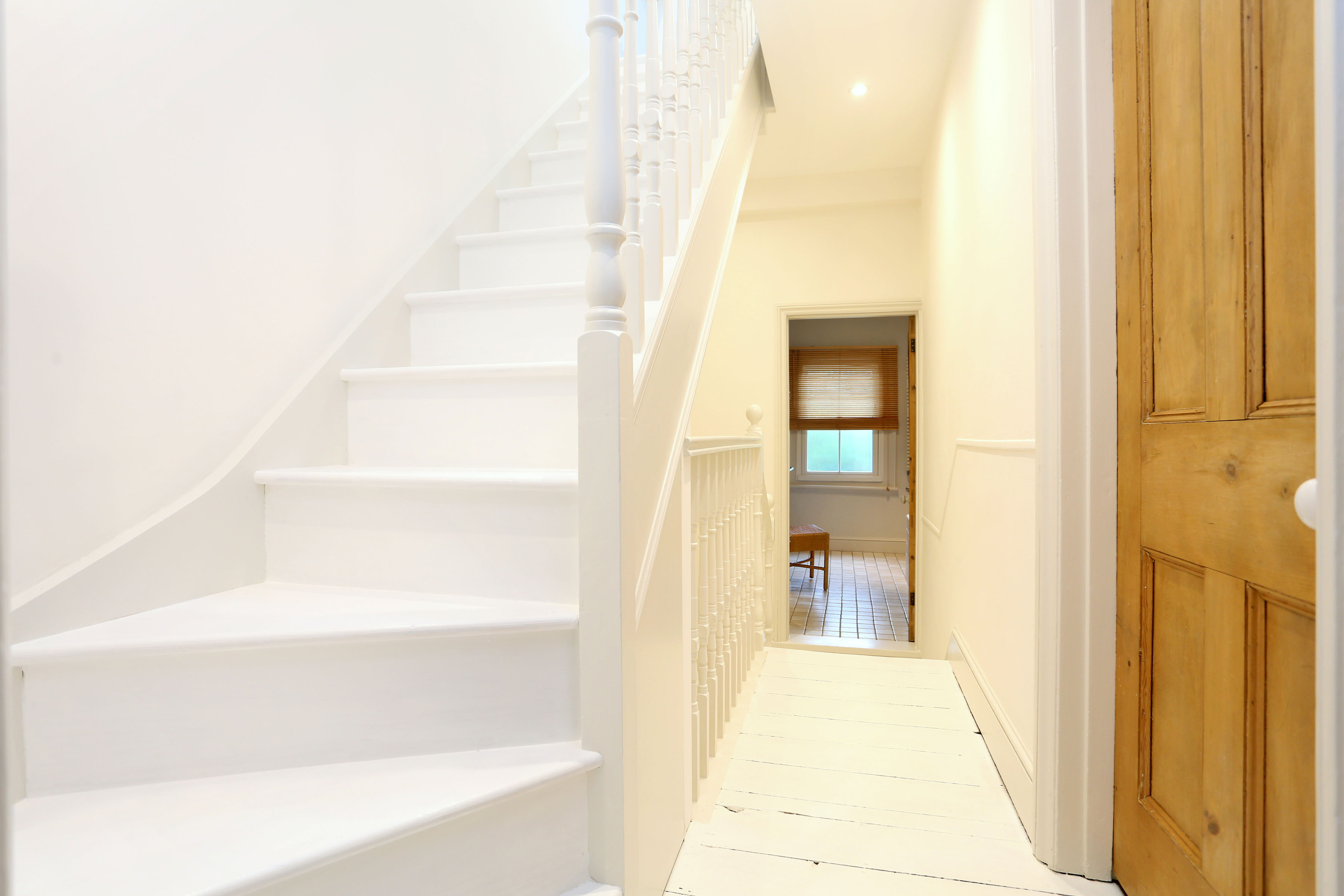 Painting & decorating of loft conversion in Windsor. - Temple Road